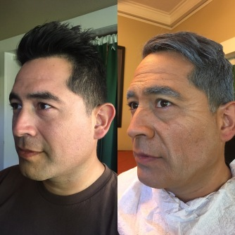 Before and after out of kit aging