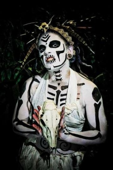 """Voodoo Woman"". Model: Shashonna Knecht"