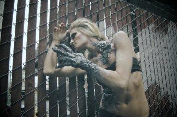 custom Alien hand and skin fx. Model: Cloe Hallock. Photo: Joe Aimonetti