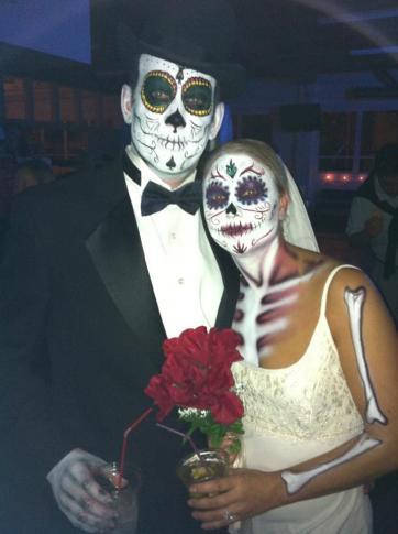 """""""Dia De Los Muertos Wedding"""""""