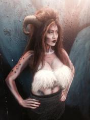 Faun makeup for FrightTown