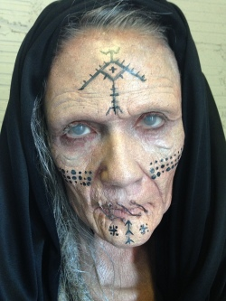 SIHR makeup using RBFX prosthetics