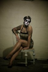 """Dia De Los Muertos Pinup"" Model: Malorie Gusick. Photo: Joe Aimonetti"