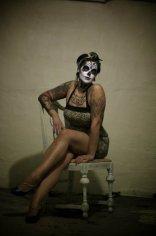 """Dia De Los Muertos Pinup"" Model: Malorie Gusick. Photo: Joe Aimonetti"